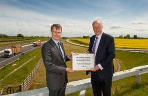 £400m A1 Upgrade Brings Safer, Faster Journeys For Drivers