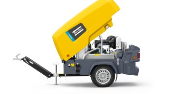Atlas Copco Adds New Compressor to 8 Series Range Complete With a Built-In Generator