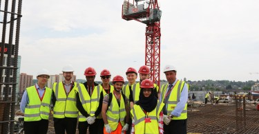 University of Bedfordshire Undergraduates Gain Valuable Construction Experience with R G Carter