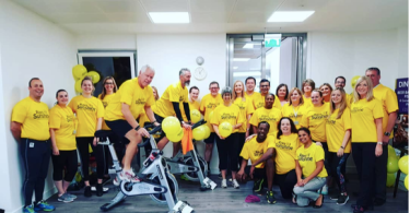 Jupiter Hotels CEO Leads Team to Raise Pulses and Money for Poorly Children with a 12 Hour Spin-A-Thon