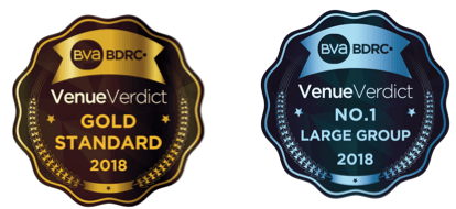 LGH Hotels Management Ltd Win Big at the VenueVerdict Awards 2018 for the Third Year in a Row!