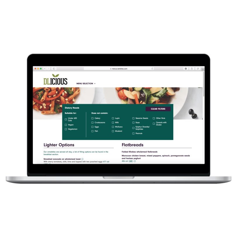 Ten Kites Partners with IndiCater to Simplify Multi-Channel Deployment of Allergen-Compliant Recipes and Consumer-Facing Menus