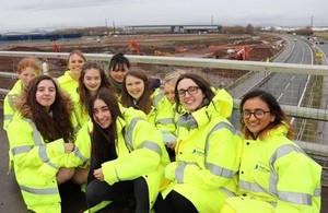 Highways England Builds Bridges on International Women's Day
