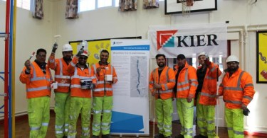 School Gets Smart Makeover Thanks to M6 Workers