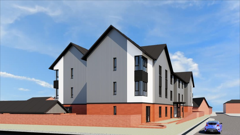 Housing build contract awarded