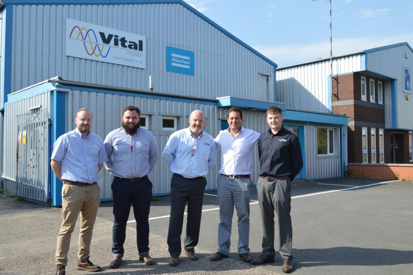 Atlas Copco Welcomes Vital Power as an Authorised Distributor for its QIS Generator Range