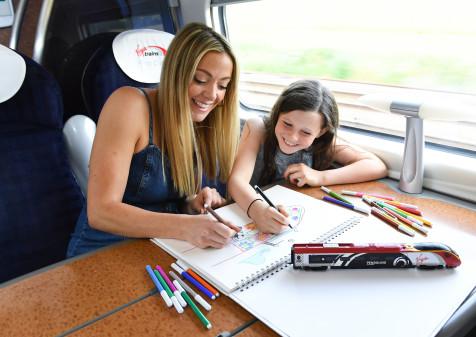 Virgin Trains and Cherry Healey Launch 'Train Jotting' to Help Children Reimagine Train Travel