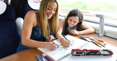 Virgin Trains and Cherry Healey Launch 'Train Jotting' to Help Children Reimagine Train Travel