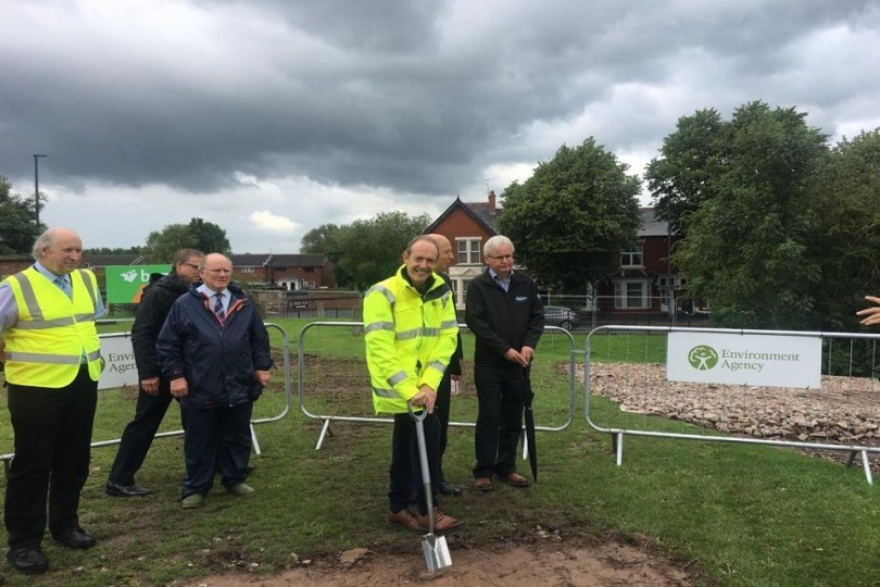 £25m Flood Risk Management Scheme for Carlisle gets Underway