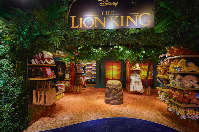 Disney Store's Lion King Comes to Life with Immersive Savannah-themed In-Store Area