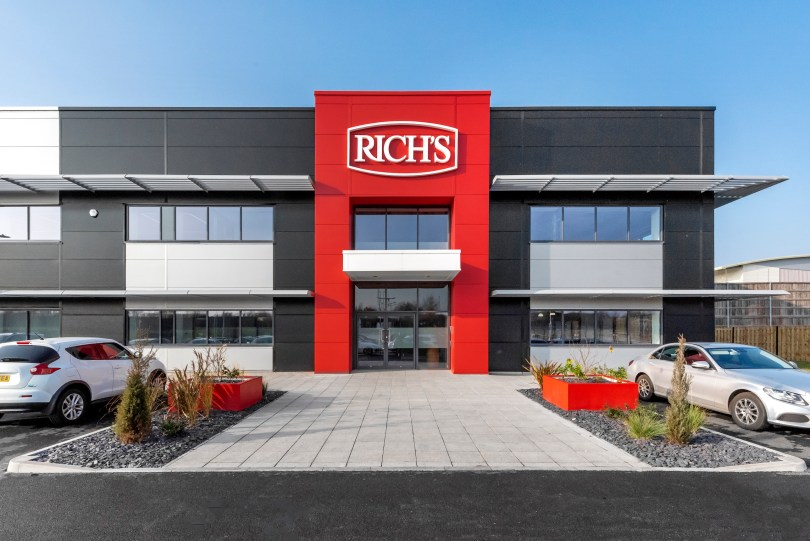 Rekan Announces Completion of Multi-Million Pound State-of-the-Art Factory for Global Sweet Bakery Brand, Rich Products