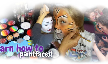 Face painting workshops for 2016