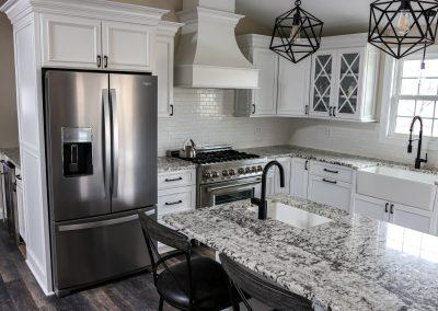 Azul Bianco Granite Kitchen Countertops