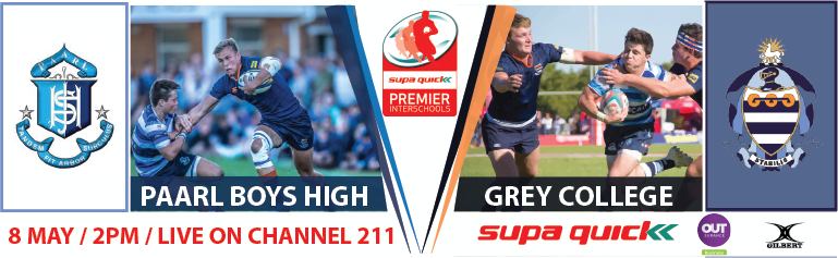 PRESS RELEASE: Paarl Boys' High vs Grey College Historic Overview 2021