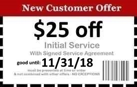 Naples Pest Control Coupon Good Until 11/31/18