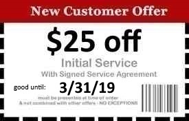 Naples Pest Control Coupon Good Until 3/31/19