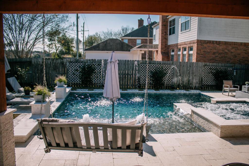amazing pool patio ideas on a budget