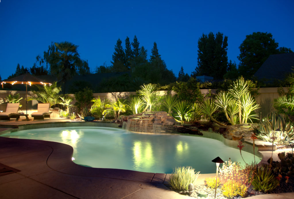 install pool lights for the perfect
