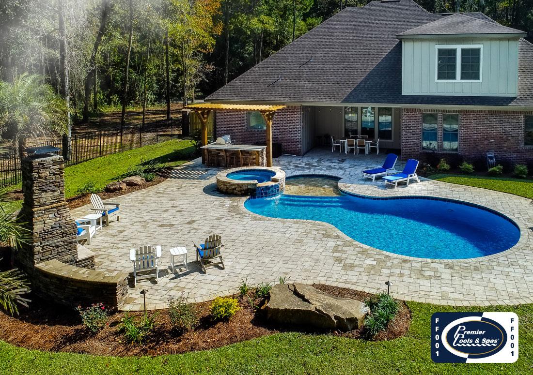 freeform swimming pools freeform pool