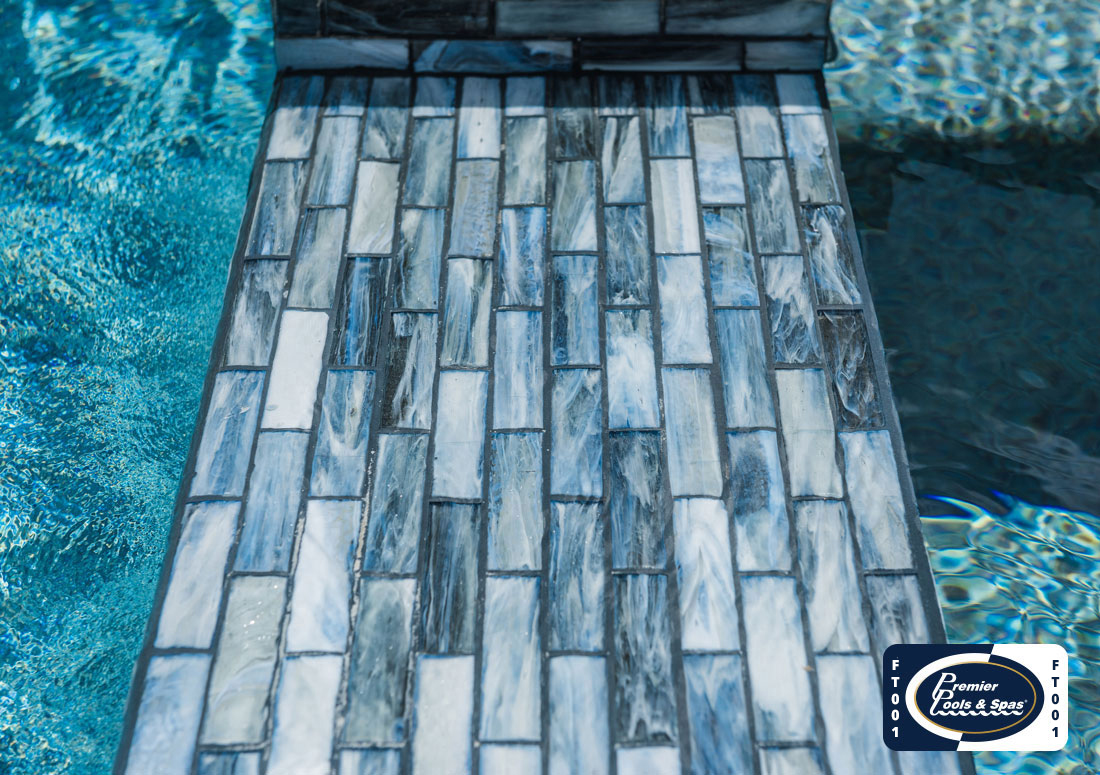 beautiful pool tiles how to choose tile for your pool
