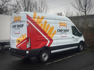 Chip Shop Van
