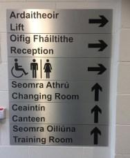 AnPost Directory Signage