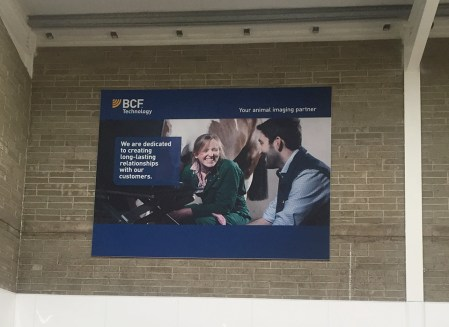 Interior Signage - BCF Technologies - Banner on Frame