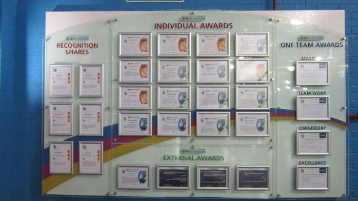 Awards Notice Board