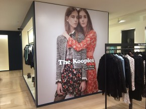 The Kooples Wall Graphic