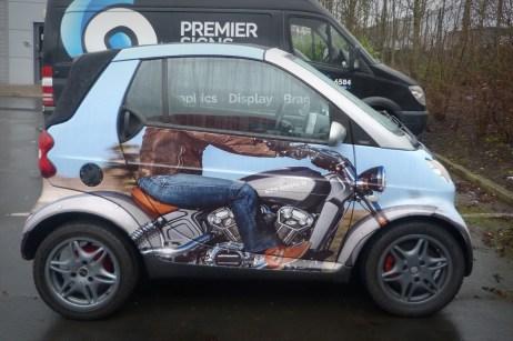 Moto4U Smart Car Wrap