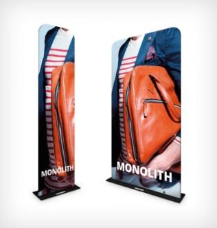 Formulate Monolith Exhibition Display