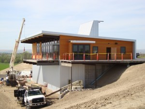 Designers can incorporate SIPs in any architectural style, as seen in this Washington state winery.