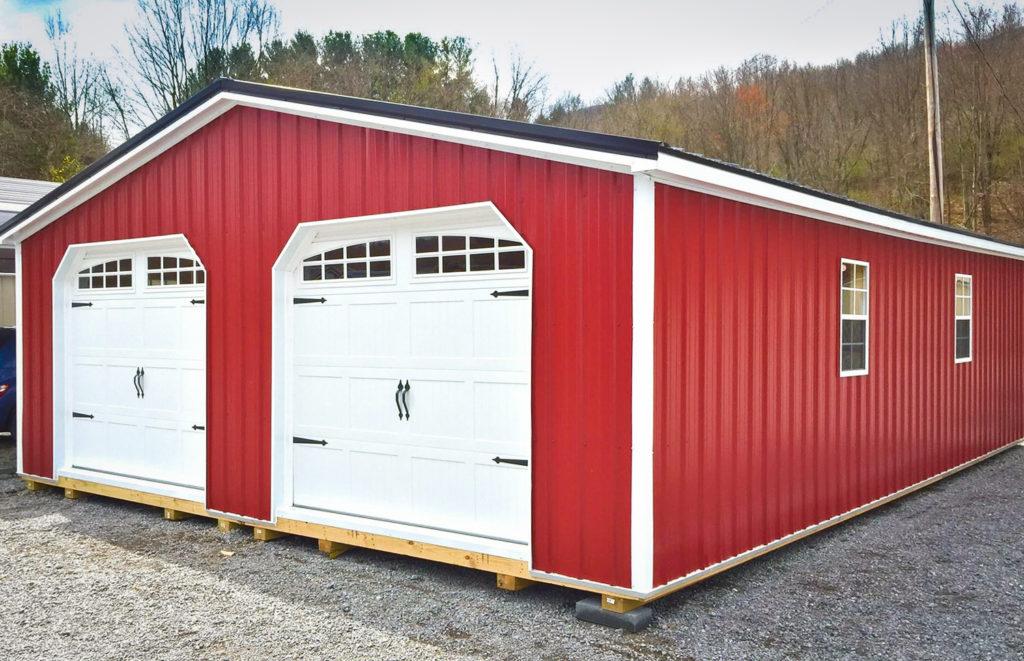Double Car Garage Prefab Novocom Top
