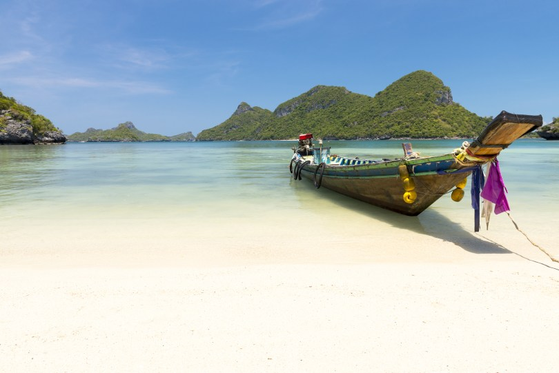bigstock Traditional fishing longtail b 44429239 1024x684 - 9 Must-See Places while Teaching in Thailand
