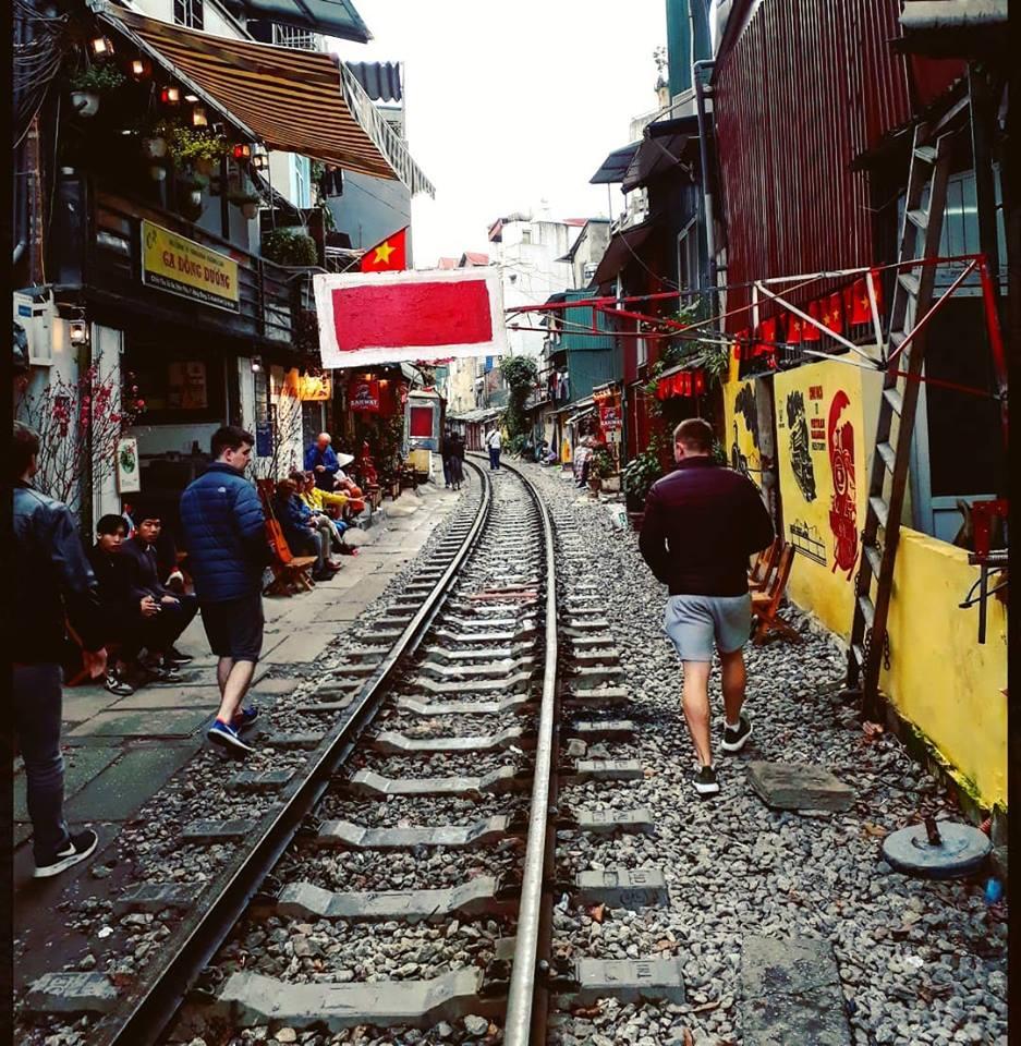 Street 2 - Will Davies living it up in Vietnam ✈️