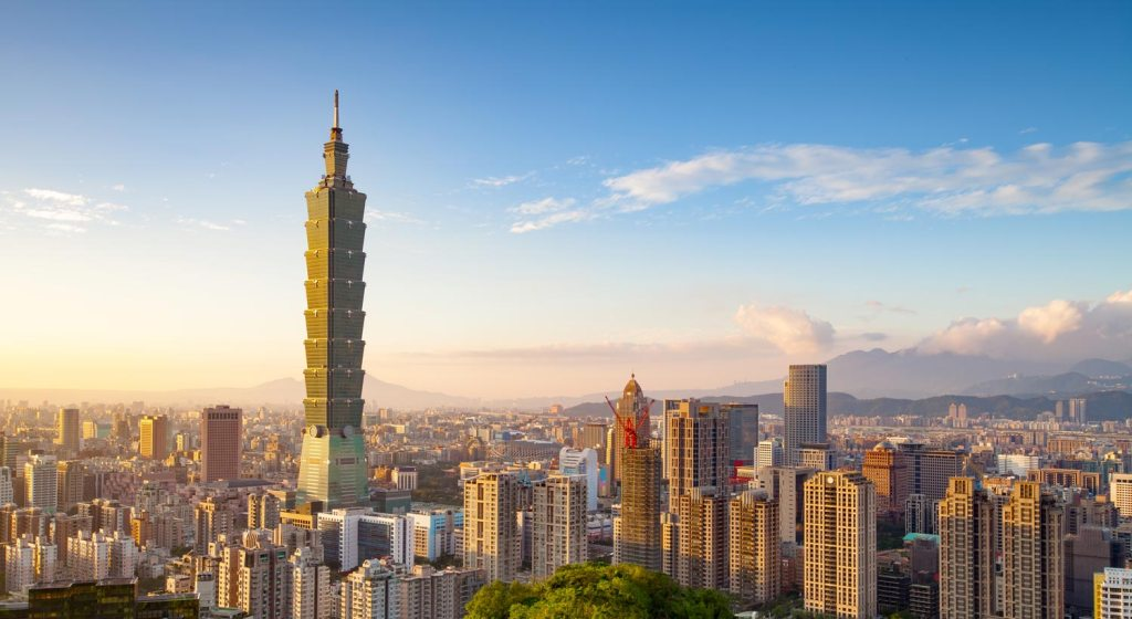 taiwan skyline 2 1024x560 - 7 Best Places for New Teachers Abroad