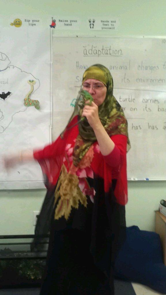 Ms Lorie with Missy 576x1024 - Meet Lorie Sprague, Jordan-based Online English Teacher