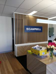 Reception Signage | Campbelltown