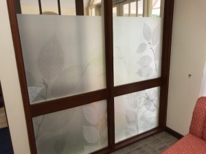 Decorative Window Frosting