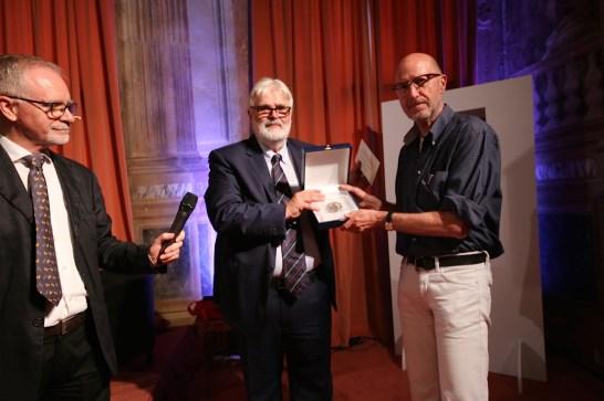 Gianni Rigoni Stern con Diego Leoni