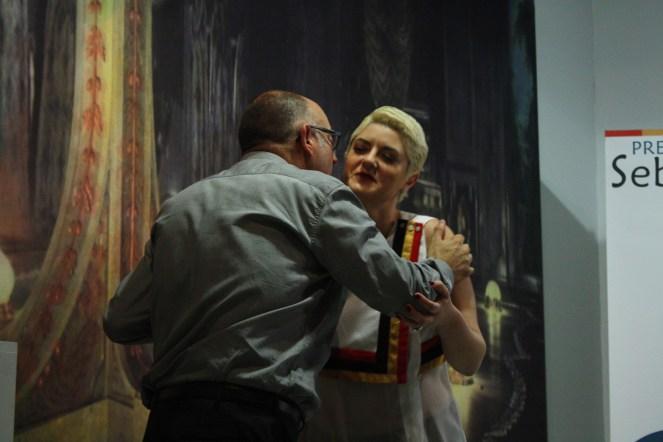 Anahí Bereneri entrega el 17 Sebastiane