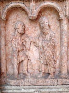 Beatus accoglie il pellegrino