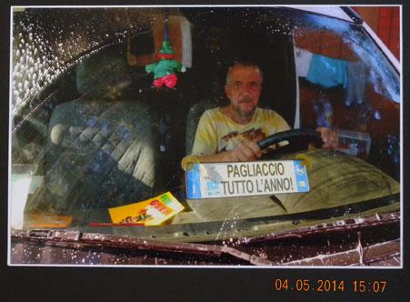 """Concorso Fotografico Vittorio Bachelet 2014. Premio Speciale Tina Modotti: Pierùluigi Galassi (Piombino) con """"Pagliaccio tutto l'anno"""""""