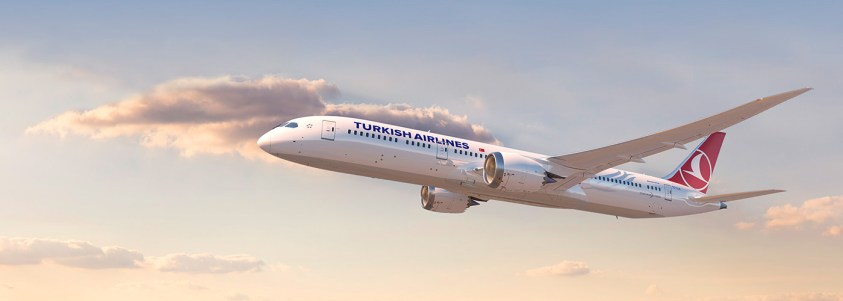 Turkish Airlines B787-9 (Photo by Turkish Airlines)