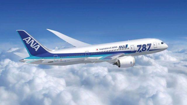 ANA B787 Dreamliner
