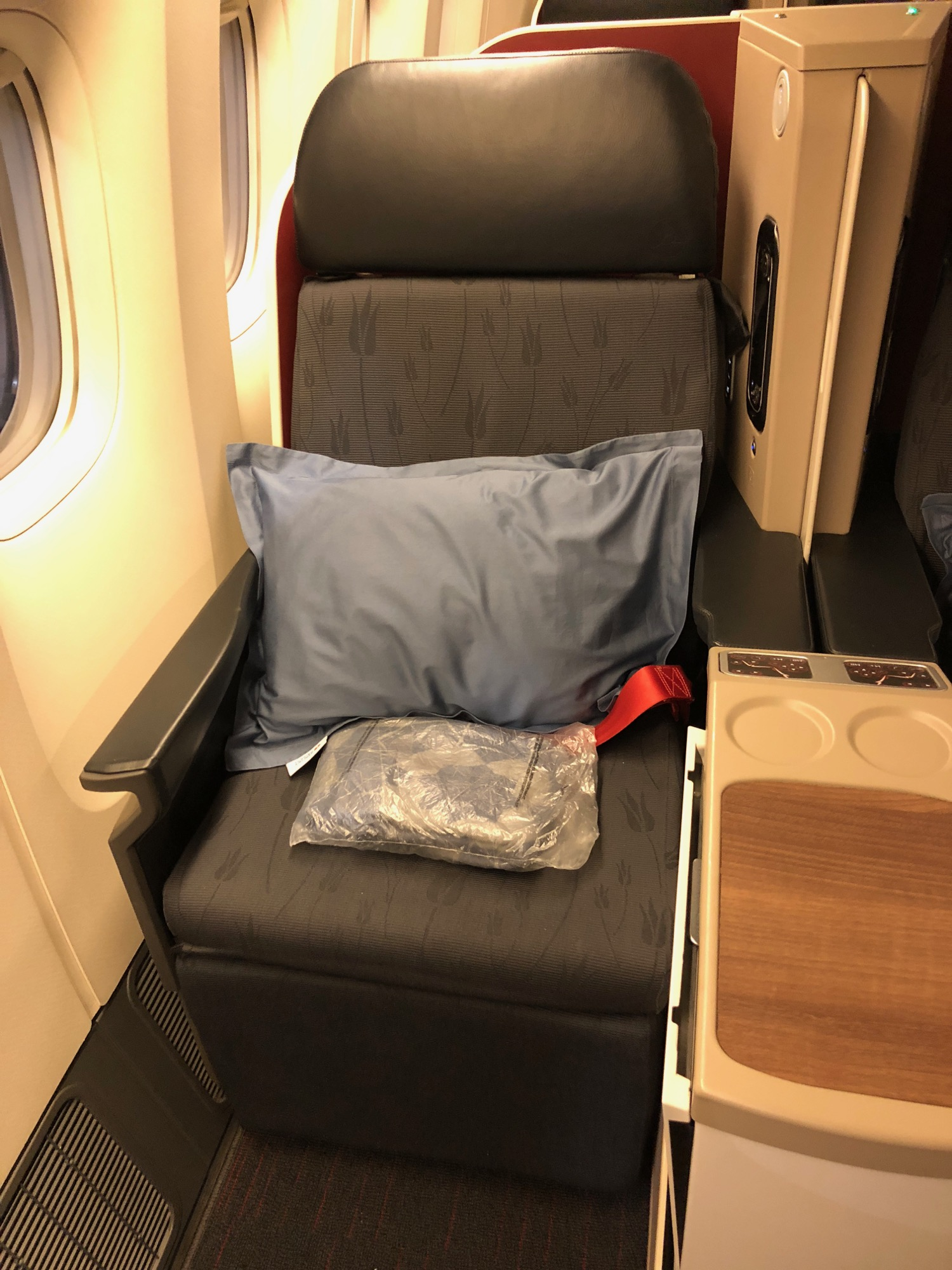 Turkish Airlines B777 Business Class
