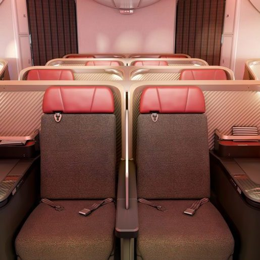Latam new Business Class Interior
