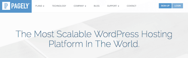 ways Pagely was the first managed hosting service for WordPress.