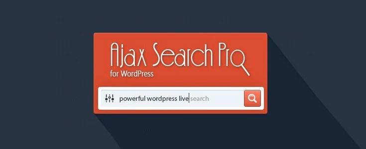 Ajax Search Pro plugin