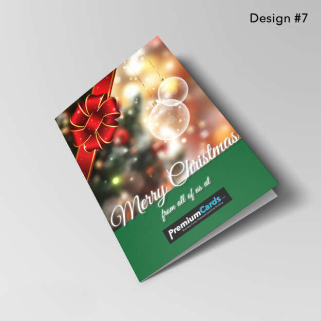 Customized Christmas Greeting Cards